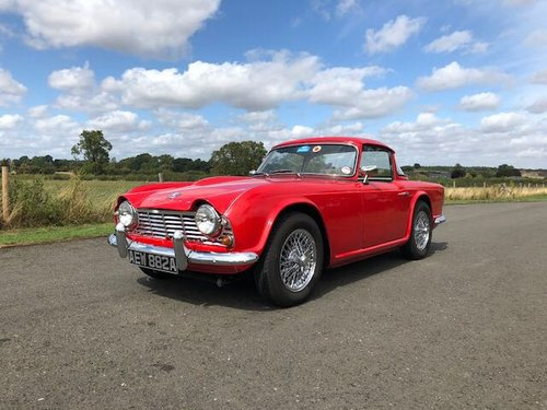 1963 Triumph TR4 Manual with Overdrive SOLD (picture 1 of 6)
