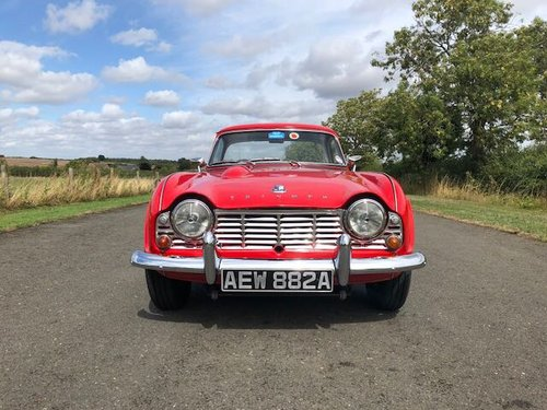 1963 Triumph TR4 Manual with Overdrive SOLD (picture 2 of 6)