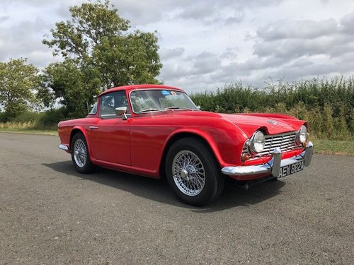 1963 Triumph TR4 Manual with Overdrive SOLD (picture 3 of 6)