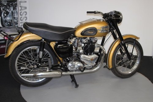 1957 Triumph thunderbird 650cc For Sale (picture 1 of 6)