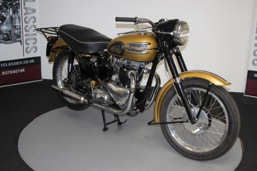 1957 Triumph thunderbird 650cc For Sale (picture 3 of 6)