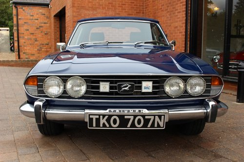 1974 Triumph Stag 3.0 V8 Manual SOLD (picture 1 of 6)