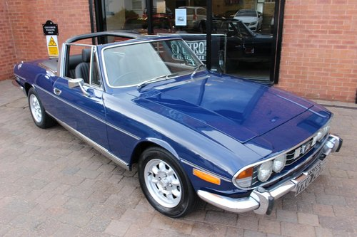 1974 Triumph Stag 3.0 V8 Manual SOLD (picture 2 of 6)