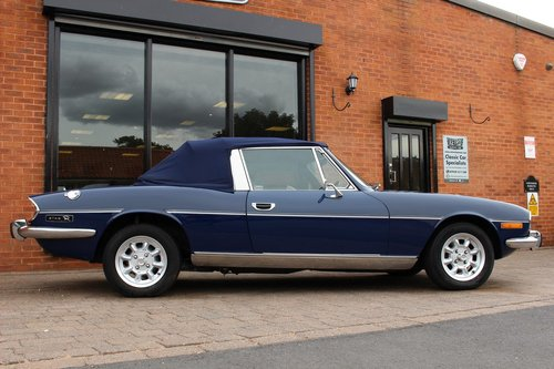1974 Triumph Stag 3.0 V8 Manual SOLD (picture 5 of 6)