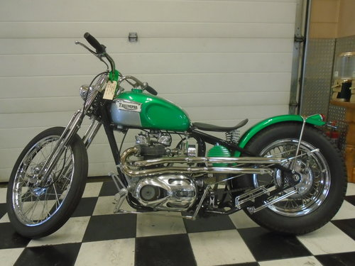 1969 Triumph Tiger Custom Bobber For Sale (picture 1 of 2)