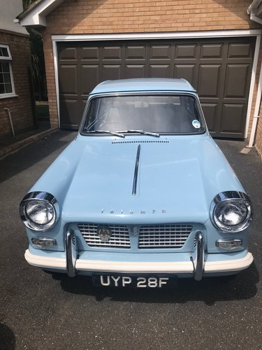 1968 Triumph Herald 1200 - Completely Original. SOLD (picture 1 of 6)