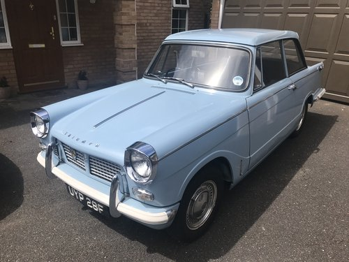 1968 Triumph Herald 1200 - Completely Original. SOLD (picture 2 of 6)
