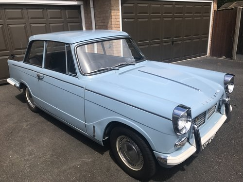 1968 Triumph Herald 1200 - Completely Original. SOLD (picture 3 of 6)