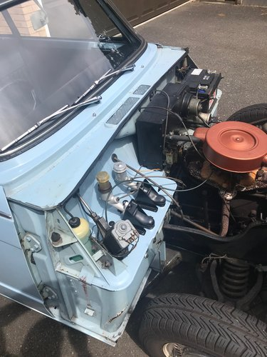 1968 Triumph Herald 1200 - Completely Original. SOLD (picture 5 of 6)