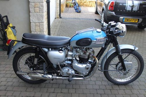 1962 Triumph T120 For Sale Car And Classic