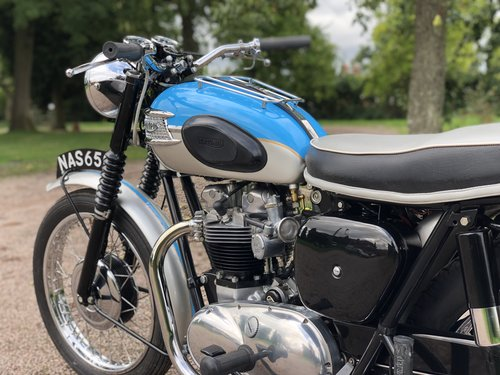 Triumph T120 Bonneville 1961 650cc Matching Numbers NAS 650 SOLD (picture 6 of 6)