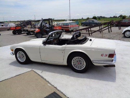 1969 Triumph TR6 Convertible For Sale (picture 2 of 6)