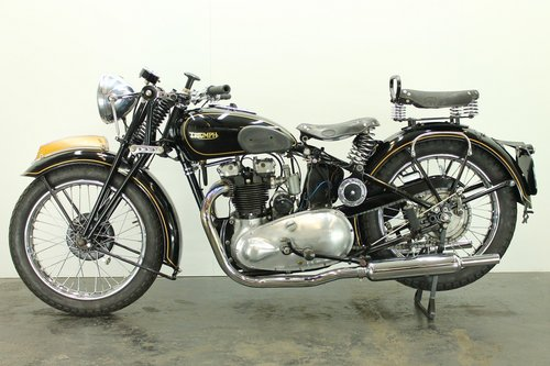 Triumph Speed Twin 1938 500cc 2 cyl ohv For Sale (picture 2 of 6)