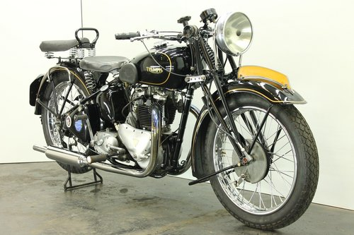 Triumph Speed Twin 1938 500cc 2 cyl ohv For Sale (picture 4 of 6)
