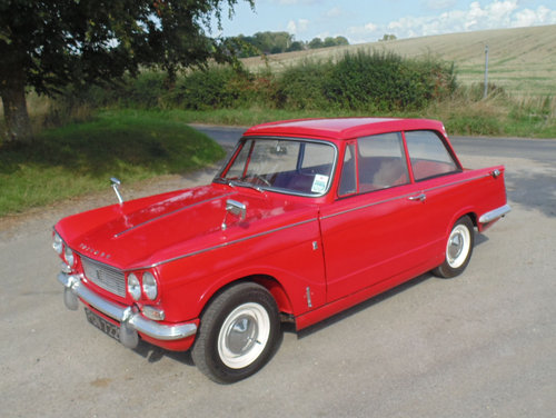 1967 Triumph Vitesse Mk1 2.0 SOLD (picture 1 of 6)
