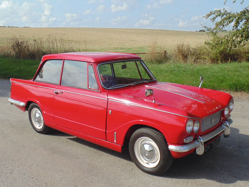 1967 Triumph Vitesse Mk1 2.0 SOLD (picture 2 of 6)