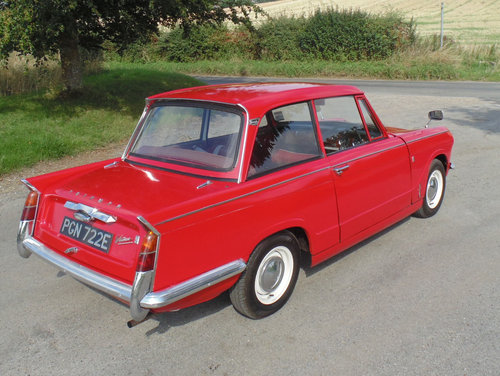 1967 Triumph Vitesse Mk1 2.0 SOLD (picture 3 of 6)