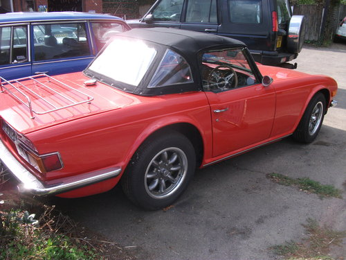 1975 TRIUMPH TR6  For Sale (picture 3 of 6)