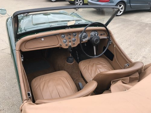 1955 Triumph TR2 WITH OVER DRIVE - SHORT DOOR For Sale (picture 5 of 6)