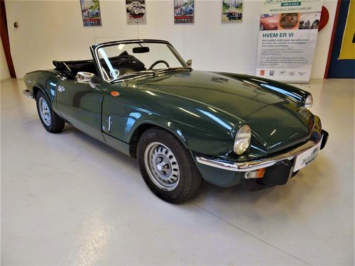 1972 Triumph Spitfire Mark IV SOLD (picture 1 of 6)