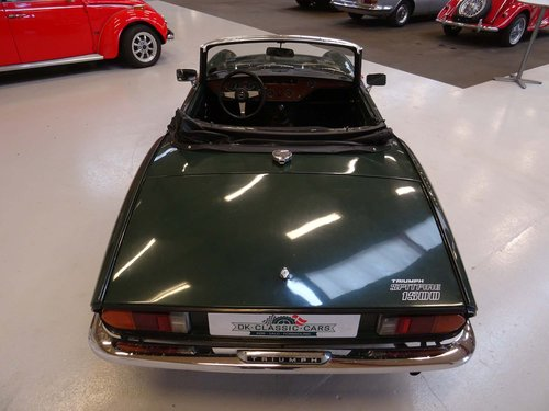 1972 Triumph Spitfire Mark IV SOLD (picture 3 of 6)