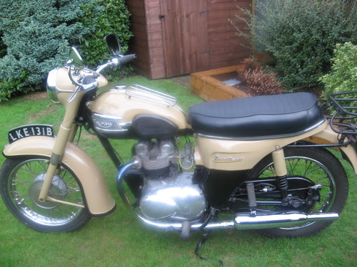 Triumph twenty one 350cc bikini model 1964 Wanted (picture 4 of 5)