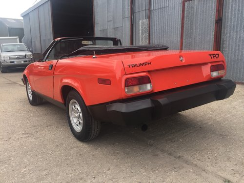 1979 Ultra Low Mileage TR7 Roadster, 874 Miles ! Probably Unique  SOLD (picture 4 of 6)