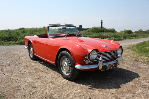 1962 LEFT HAND DRIVE TR4 FOR SALE SOLD (picture 1 of 6)
