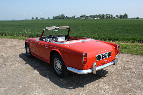 1962 LEFT HAND DRIVE TR4 FOR SALE SOLD (picture 4 of 6)