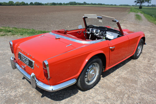 1962 LEFT HAND DRIVE TR4 FOR SALE SOLD (picture 5 of 6)