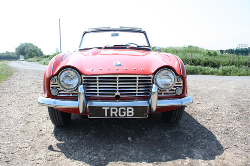 1962 LEFT HAND DRIVE TR4 FOR SALE SOLD (picture 6 of 6)