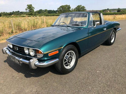 1971 Triumph Stag 3.0 V8 Manual Overdrive SOLD (picture 1 of 6)