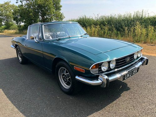 1971 Triumph Stag 3.0 V8 Manual Overdrive SOLD (picture 3 of 6)
