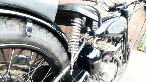 1955 Triumph TRW 500cc twin  SOLD (picture 3 of 6)