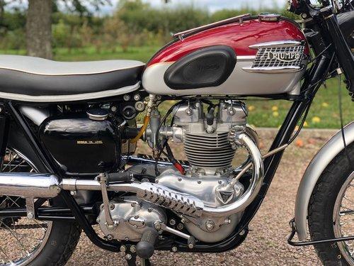 Pre-Unit 1961 Triumph TR6C Trophy Competition 650cc. SOLD (picture 4 of 6)
