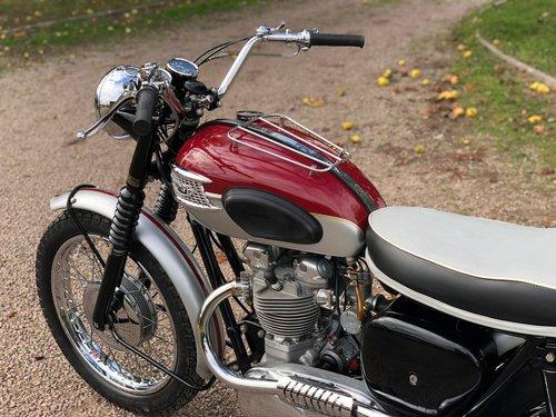 Pre-Unit 1961 Triumph TR6C Trophy Competition 650cc. SOLD (picture 5 of 6)