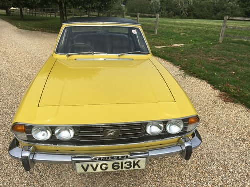 1971 STAG MK 1 WITH HARD TOP BELIEVED GENUINE 30000 MILES LOVELY  For Sale (picture 1 of 6)