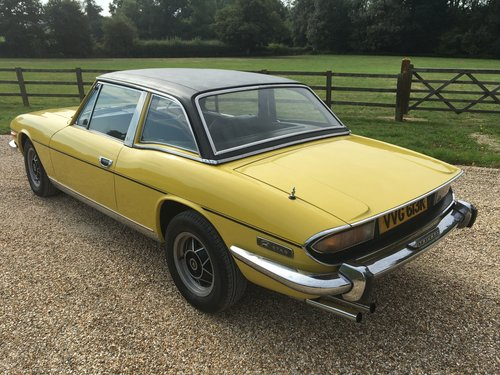 1971 STAG MK 1 WITH HARD TOP BELIEVED GENUINE 30000 MILES LOVELY  For Sale (picture 3 of 6)
