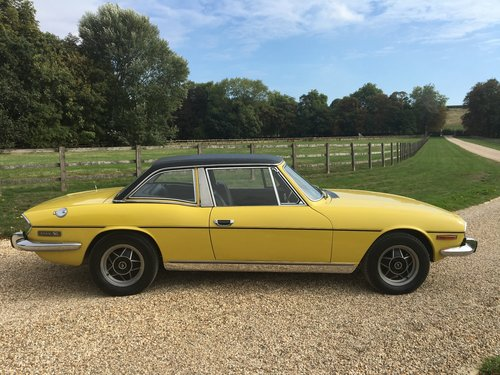 1971 STAG MK 1 WITH HARD TOP BELIEVED GENUINE 30000 MILES LOVELY  For Sale (picture 4 of 6)