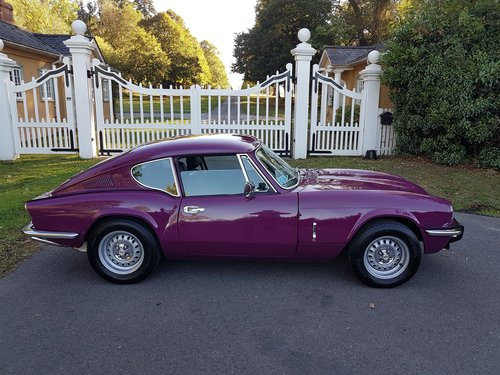 1974 Triumph GT6 MKIII - Beautifully Restored / Low mileage SOLD (picture 2 of 6)