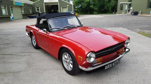 1970 TR6 - Now sold another wanted! For Sale (picture 1 of 1)