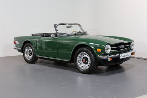 1975  A classic Triumph TR6 just bursting to be enjoyed. SOLD (picture 1 of 6)
