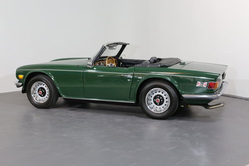 1975  A classic Triumph TR6 just bursting to be enjoyed. SOLD (picture 2 of 6)