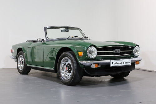 1975  A classic Triumph TR6 just bursting to be enjoyed. SOLD (picture 6 of 6)