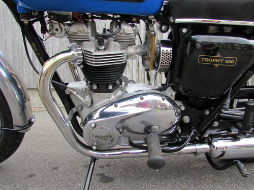Restored 1968 Triumph TR6 American specification For Sale (picture 2 of 6)