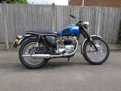 Restored 1968 Triumph TR6 American specification For Sale (picture 3 of 6)
