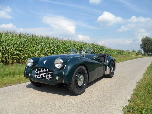 1957 Triumph TR3  For Sale (picture 1 of 6)
