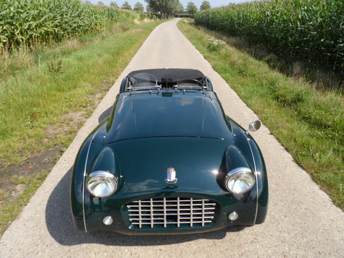 1957 Triumph TR3  For Sale (picture 4 of 6)