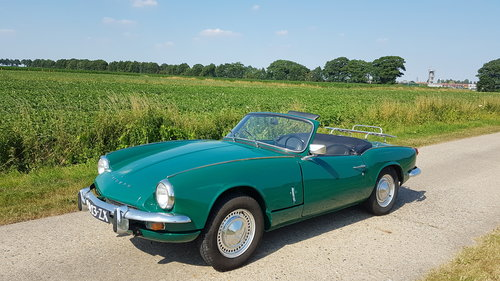1970 Triumph Spitfire MKIII   SOLD (picture 1 of 6)