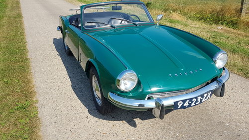 1970 Triumph Spitfire MKIII   SOLD (picture 2 of 6)